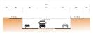 Corte longitudinal - Corredor BRT
