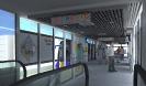 Estação no Corredor BRT Leste-Oeste