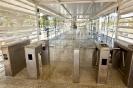 Catracas de acesso à Estação BRT